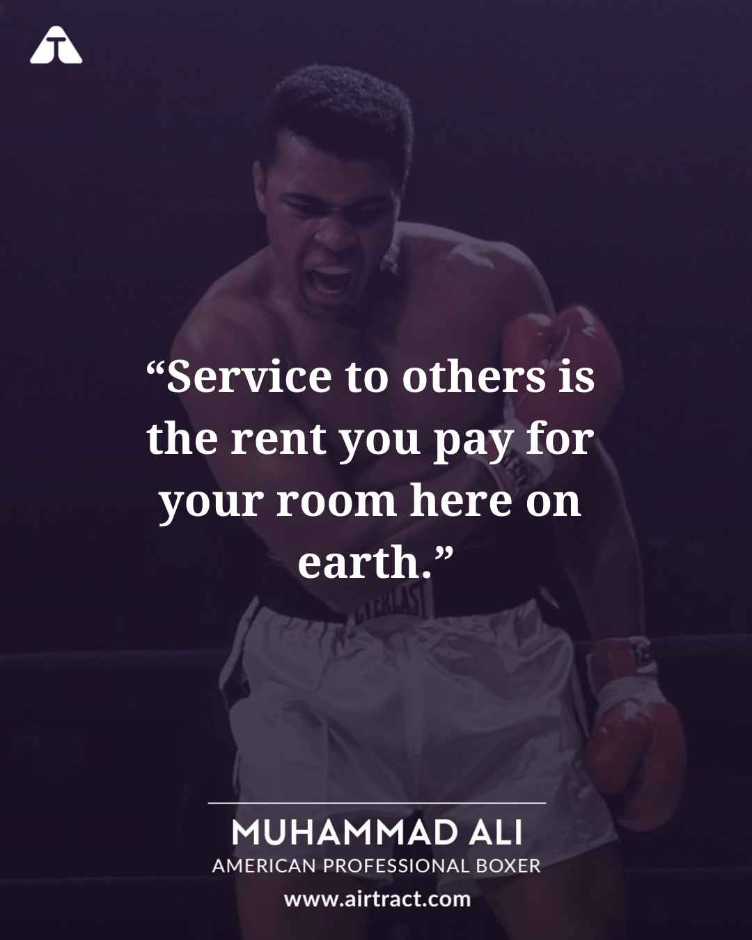 Top 20 Greatest Muhammad Ali Quotes | AirTract