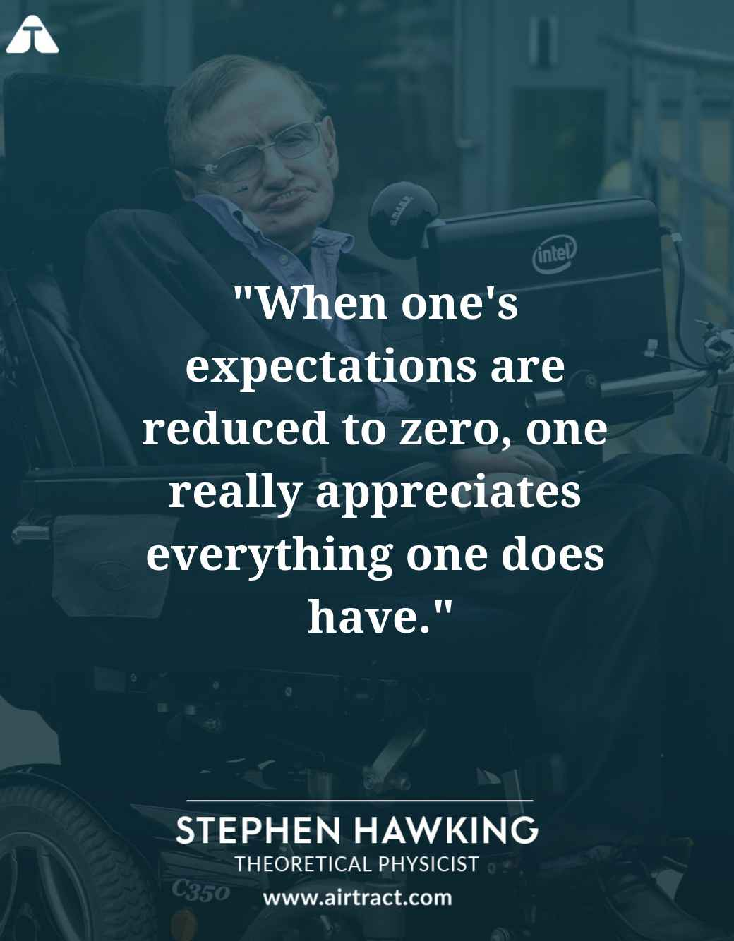 Stephen Hawking Quotes | 15 Inspirational Stephen Hawking Quotes On Success Airtract