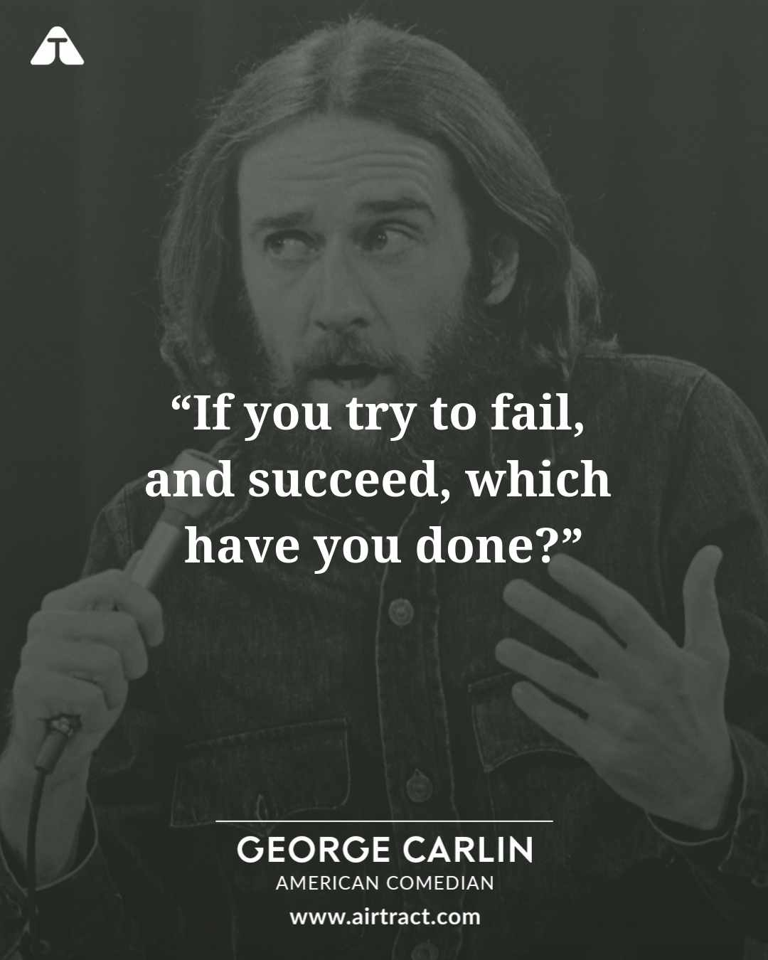 19 Wise And Sarcastic Quotes By George Carlin | AirTract