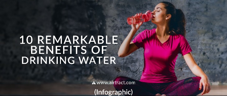 10 Remarkable Benefits of Drinking Water (Infographic)